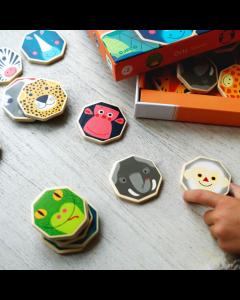 Djeco Octo Memo - Octagonal Memory Game - SAVE 25%