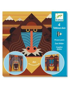 Djeco Paper Creations Picture Pairs - Wildlife DJ09445