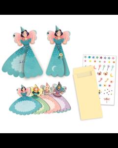 Djeco Party Invitations - Fairies