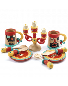 Djeco Pirate Dishes Dining Set - SAVE 25%