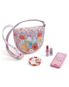 Djeco Pretend Play - Birdie's Bag & Accessories