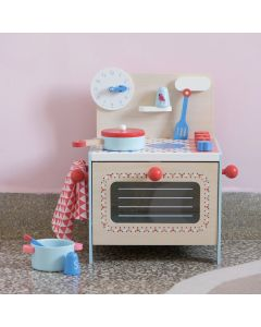 Djeco Pretend Play - Blue Cooker