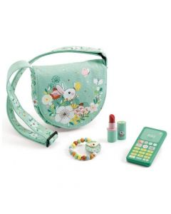 Djeco Pretend Play - Lucy's  Bag & Accessories
