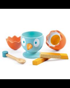 Djeco Pretend Play Food - Coco Egg - SAVE 25%