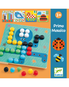 Djeco Primo Mosaic Game - My First Mosaic