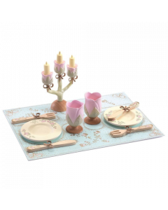 Djeco Princesses Dishes Dining Set