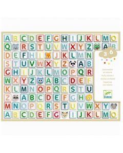Djeco Puffy Stickers - Alphabet DJ09078