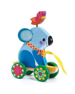 Djeco Pull Along Toy Otto the Koala Bear DJ06245