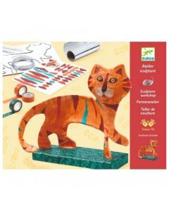Djeco Sculpture Workshops - The Tiger