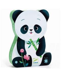 Djeco Puzzle - Leo the Panda 24 pieces