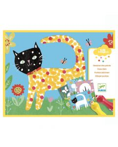 Djeco Small Dots Painting Set