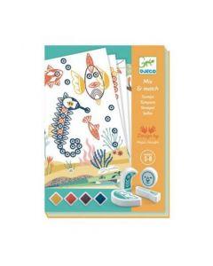 Djeco Stamps - Surprising Animals