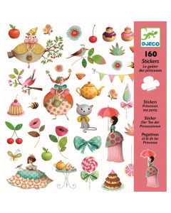 Djeco Stickers Princesses Tea Party