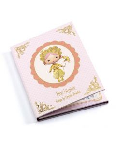 Djeco Tinyly - Miss Lilypink - Removable Stickers
