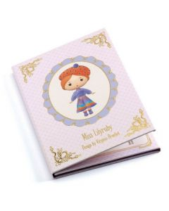 Djeco Tinyly - Miss Lilyruby - Removable Stickers