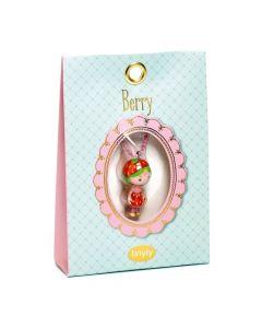 Djeco Tinyly Necklace - Berry