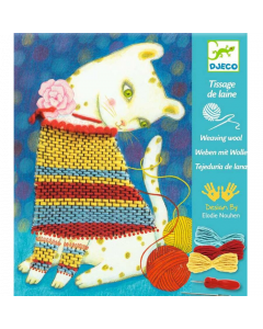 Djeco Weaving with Wool - Woolly Jumper