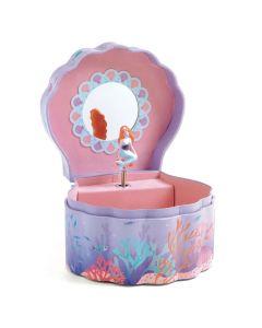 Djeco Wooden Musical Box - Enchanted Mermaid DJ06083