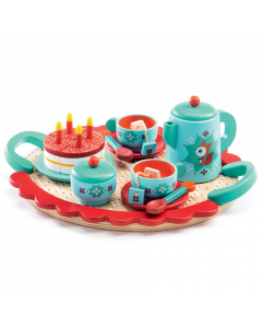 Djeco Wooden Tea Set Toy