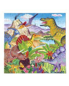 Eeboo Dinosaur Island 64 piece puzzle