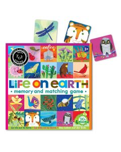 Eeboo Life On Earth - A Memory & Matching Game