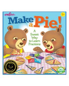 Make A Pie Game - Learn Fractions Game