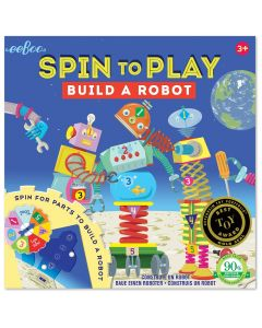 Spin To Play - Build A Robot
