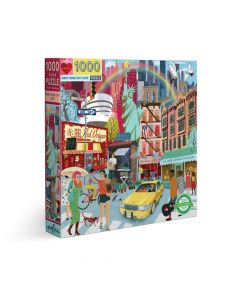 Eeboo 1000+ Piece Puzzle - New York City Life