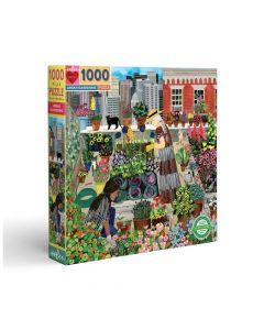 Eeboo 1000 Piece Puzzle - Urban Gardening