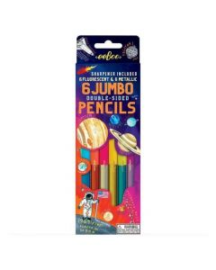 Eeboo 6 Colouring Pencils - Solar System