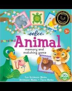 Eeboo Animal Memory & Matching Game