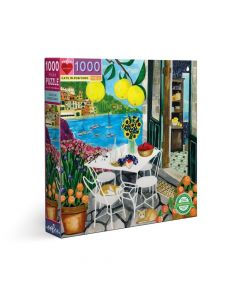 Eeboo Cats in Positano 1000 piece Family Puzzle