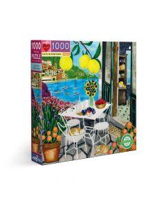 Eeboo Cats in Positano 1000 piece Family Puzzle