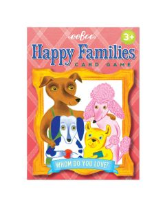 Eeboo Happy Families Card Game