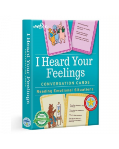 Eeboo I Heard Your Feelings. Conversation Cards FLIHF