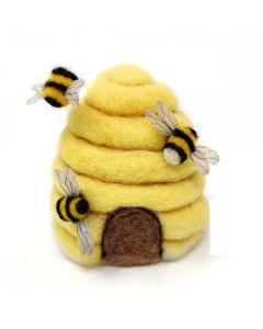 The Crafty Kit Co, Needle Felting Kit - Bee Hive