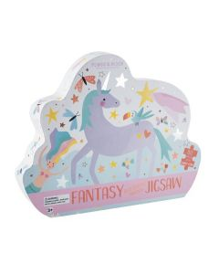 Unicorn and Butterflies Jigsaw Puzzle