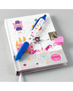 Floss and Rock Lockable Diary With Scented Pen - Unicorn