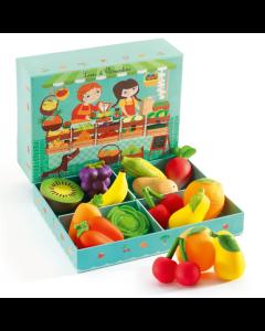 Fruit & Veg Mini Shop - Louis & Clementine by Djeco - SAVE 25%