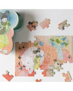 Djeco Silhouette Puzzle Kokeishi