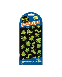 Peaceable Kingdom Glowing Bugs & Spiders Stickers