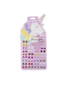 Great Pretenders - Stick on Unicorn Earrings 87503