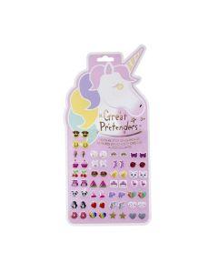 Great Pretenders - Stick on Unicorn Earrings 87503