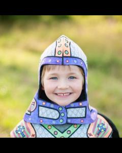 Great Pretenders Colour a Knight Helmet