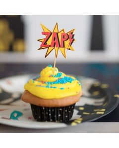 Superhero Cupcake Toppers (x24) - save 25%