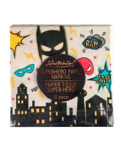 Superhero Party Napkins (x20) - save 25%