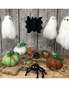 The Crafty Kit Co, Needle Felting Kit - Creepy Halloween Kit