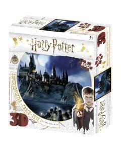Harry Potter Super 3D Puzzle - Hogwarts 500 piece