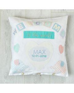 Buttonbag Baby Cushion Gift Kit