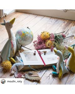 Moulin Roty Soft toy - Large Olga the Goose